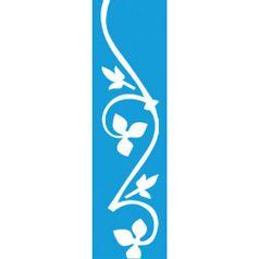 Stencil-para-Pintura-Barra-295x85-Arabesco-Folhas-LS-035---Litocart