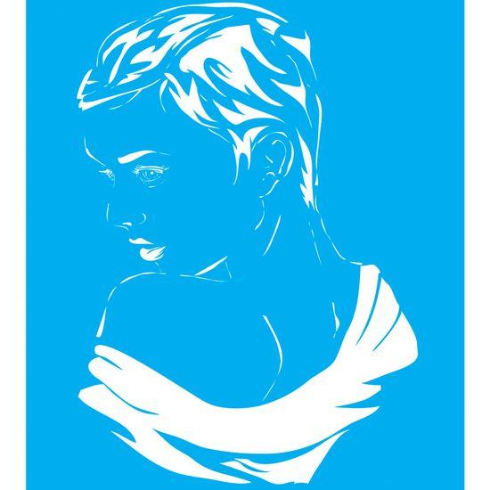 Stencil-para-Pintura-25x20-Mulher-LSG-011---Litocart