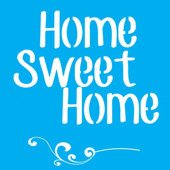 Stencil-para-Pintura-25x20-Home-Sweet-Home-e-Arabesco-LSG-016---Litocart