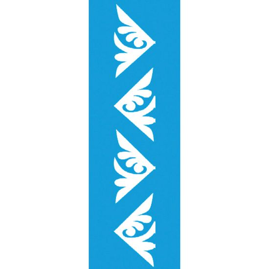 Stencil-para-Pintura-Barra-21x55-Cantoneira-Folhas-LSB-012---Litocart