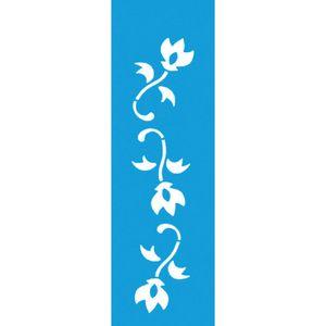 Stencil-para-Pintura-Barra-21x55-Flores-LSB-004---Litocart