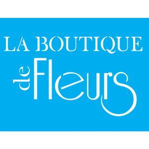 Stencil-para-Pintura-20x15-La-Boutique-de-Fleurs-LSM-011---Litocart