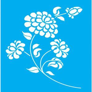 Stencil-para-Pintura-20x15-Flores-LSM-025---Litocart