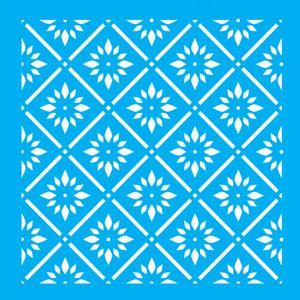 Stencil-para-Pintura-14x14-Estampa-Floral-LSP-003---Litocart