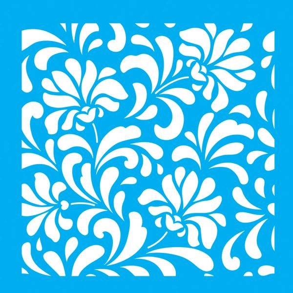 Stencil-para-Pintura-20x20-Flores-LSQ-009---Litocart