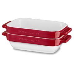 Conjunto-de-Travessa-Ceramica-Ramekin-com-2-Pecas-Retangular-Vermelho-KI763AVONA---KitchenAid
