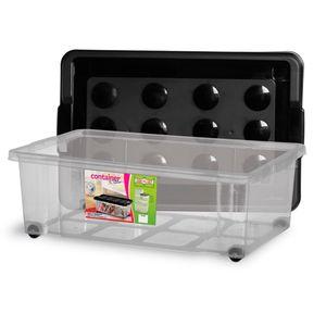 Caixa-Organizadora-Container-30-Litros-com-Rodinha-Tampa-Preta---Niquelart
