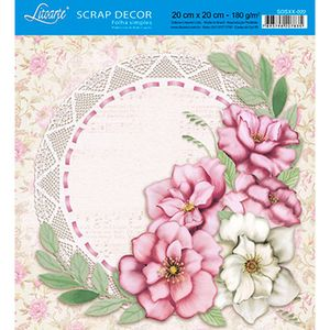 Papel-Scrap-Decor-Folha-Simples-20x20-Flores-e-Ramos-SDSXX-022---Litoarte