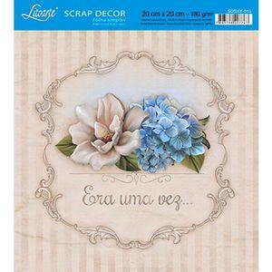Papel-Scrap-Decor-Folha-Simples-20x20-Era-uma-vez-SDSXX-015---Litoarte