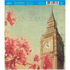 Papel-Scrap-Decor-Folha-Simples-15x15-Inglaterra-SDSXV-080---Litoarte