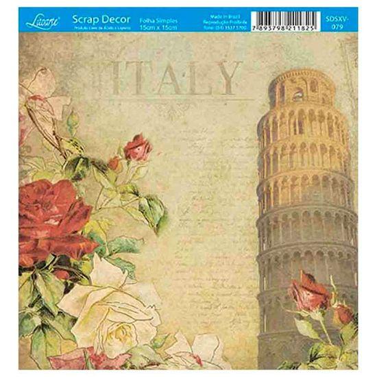 Papel-Scrap-Decor-Folha-Simples-15x15-Italia-SDSXV-079---Litoarte
