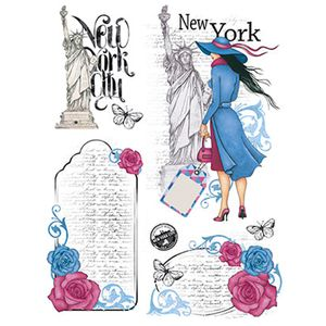 Papel-Transfer-218X284-Dama-New-York-PTG-008---Litoarte