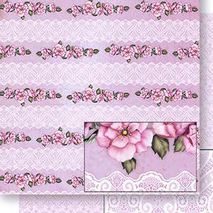 Papel-Scrapbook-Dupla-Face-Flores-e-Rendas-SD-424---Litoarte