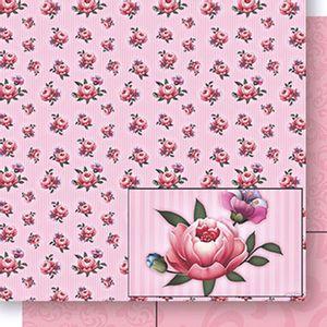 Papel-Scrapbook-Dupla-Face-Rosas-SD-436---Litoarte