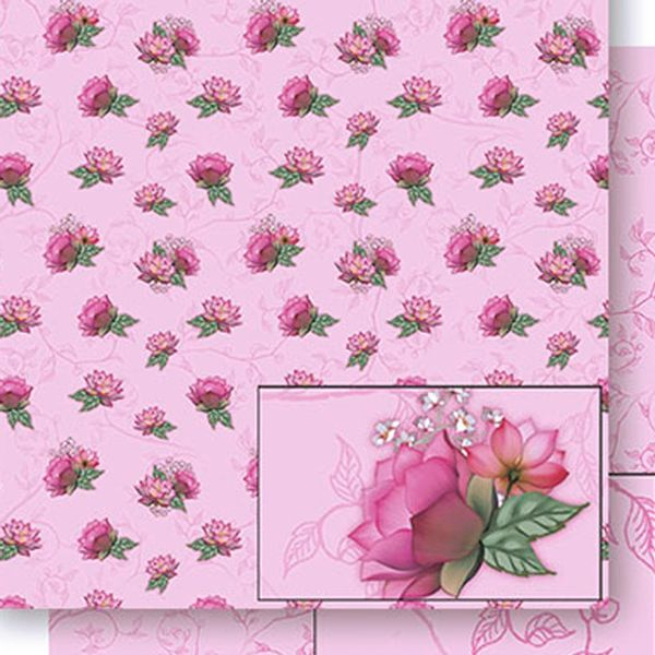 Papel-Scrapbook-Dupla-Face-Flores-de-Lotus-SD-438---Litoarte