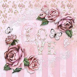 Papel-Scrap-Decor-Folha-Simples-20x20-Love-Rosas-SDSXX-035---Litoarte