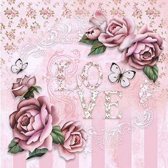Papel-Scrap-Decor-Folha-Simples-20x20-Love-Rosas-SDSXX-035---Litoarte