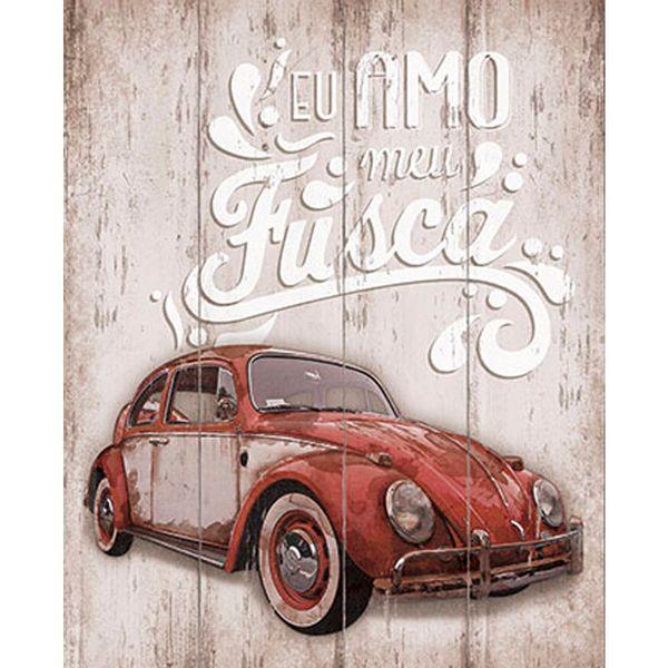 Placa-em-MDF-e-Papel-Decor-Home-Eu-Amo-meu-Fusca-DHPM-069---Litoarte