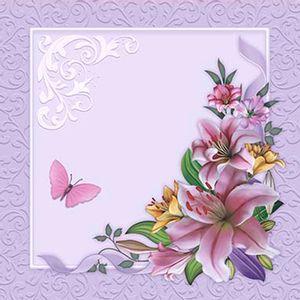 Papel-Scrap-Decor-Folha-Simples-20x20-Flores-Arabesco-SDSXX-042---Litoarte