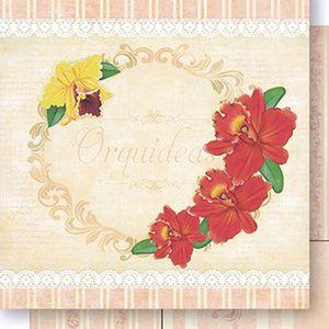 Papel-Scrapbook-Dupla-Face-Orquideas-SD1046-Lili-Negrao---Litoarte