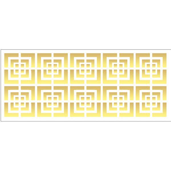 Estencil-para-Pintura-Simples-10x30-Estampa-Quadriculado---OPA1996---Opa
