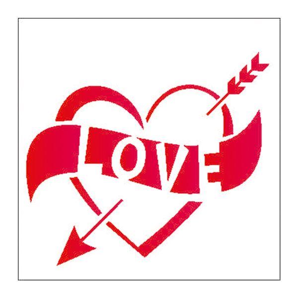 Estencil-para-Pintura-Simples-10x10-Love-OPA1982---Opa