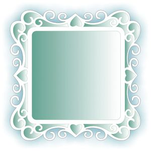 Estencil-para-Pintura-Simples-305X305-Moldura-Arabesco-OPA2100---Opa