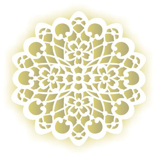 Estencil-para-Pintura-Simples-305X305-Mandala-Flor-OPA2097---Opa