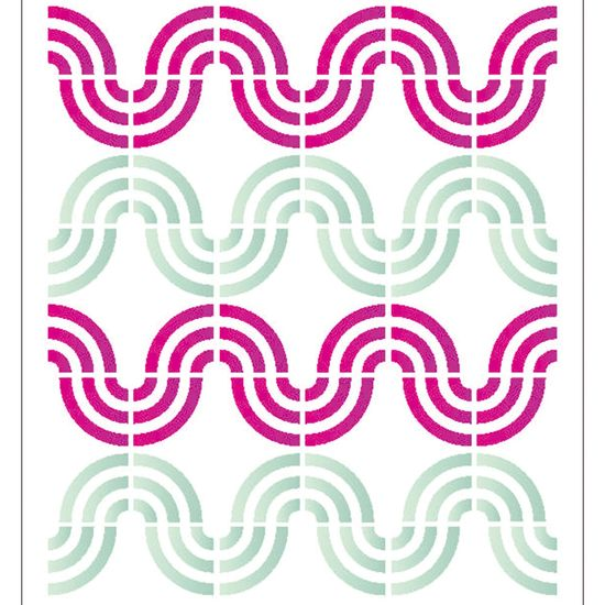 Estencil-para-Pintura-Simples-15x20-Estampa-Onda-OPA2038---Opa
