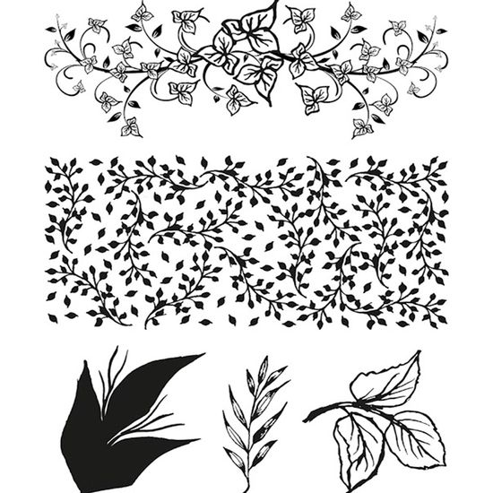 Carimbo-de-Silicone-Folhas-14x18-CASM001---Toke-e-Crie-By-Mamiko