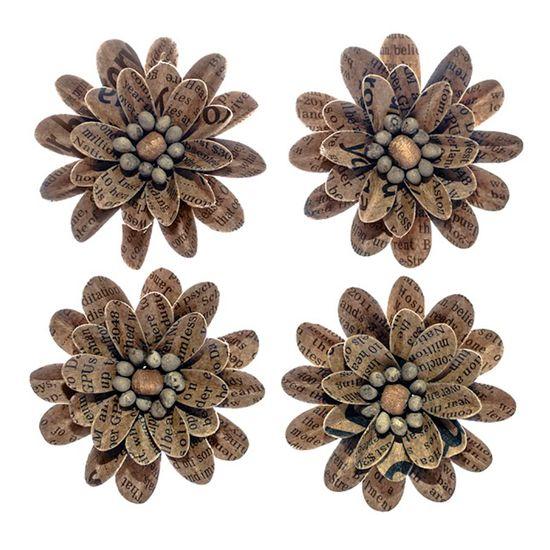Flores-Artesanais-Vintage-Kraft-Silvestre-Flor125---Toke-e-Crie