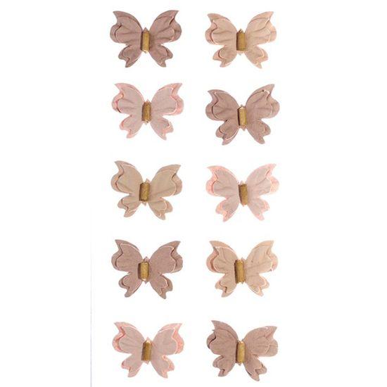 Adesivo-Mini-Borboletas-de-Papel-Sepia-Colecao-Feito-a-Mao-AD1689---Toke-e-Crie