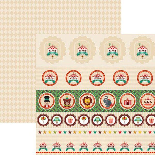 Papel-Scrap-Festa-Dupla-Face-Circo-Vintage-Selos-e-Tags-SDF651---Toke-e-Crie-By-Mariceli