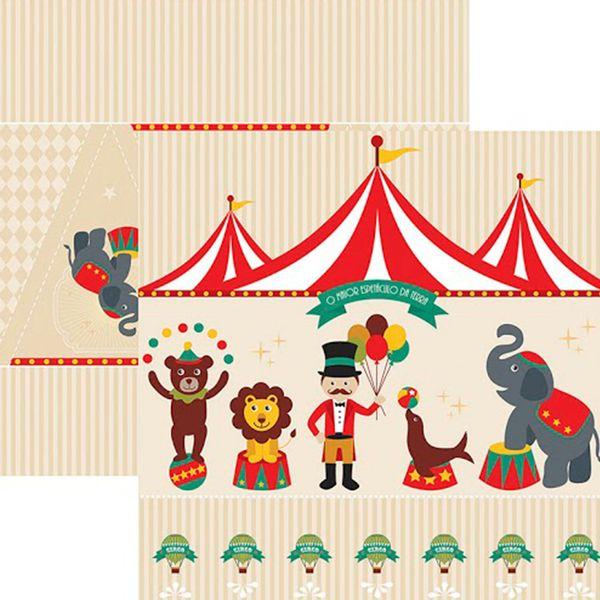 Papel-Scrap-Festa-Dupla-Face-Circo-Vintage-Cenario-e-Bandeirolas-SDF644---Toke-e-Crie-By-Mariceli