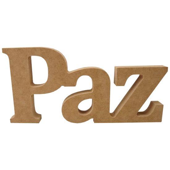 Recorte-Enfeite-de-Mesa-Palavra-Paz-21x10cm---Madeira-MDF