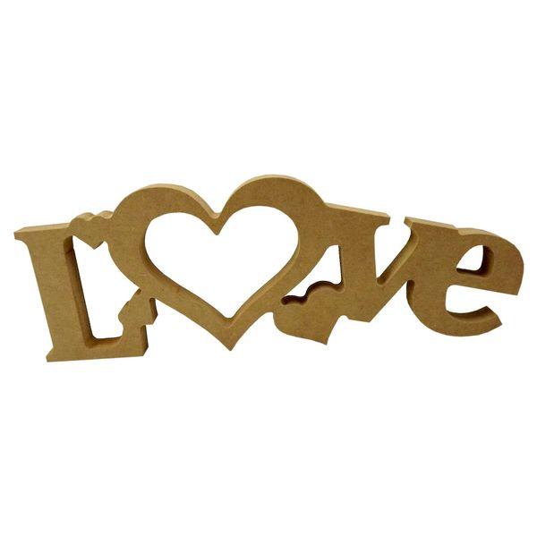Recorte-Enfeite-de-Mesa-Palavra-Love-1com-4-Coracoes-12x34cm---Madeira-MDF