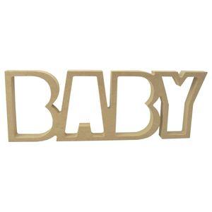 Recorte-Enfeite-de-Mesa-Palavra-Baby-15x40cm---Madeira-MDF