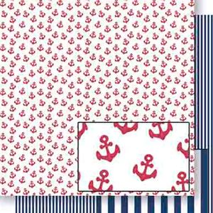 Papel-Scrapbook-Dupla-Face-Ancoras-Vermelhas-SD-447---Litoarte