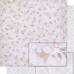 Papel-Scrapbook-Dupla-Face-Flores-e-Arabescos-SD-458---Litoarte