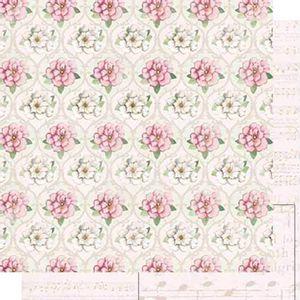 Papel-Scrapbook-Dupla-Face-Flores-SD-475---Litoarte
