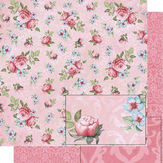 Papel-Scrapbook-Dupla-Face-Rosas-SD-489---Litoarte