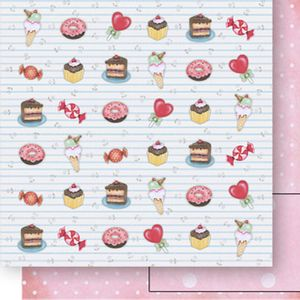 Papel-Scrapbook-Dupla-Face-Doces-SD-520---Litoarte