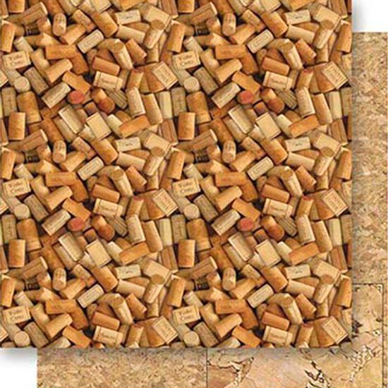 Papel-Scrapbook-Dupla-Face-Rolhas-de-Vinhos-SD-526---Litoarte