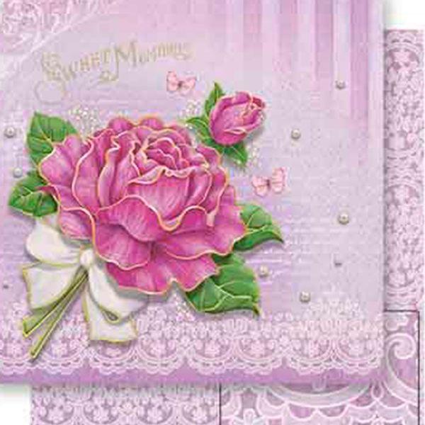 Papel-Scrapbook-Dupla-Face-Rosa-com-Laco-SD-538---Litoarte