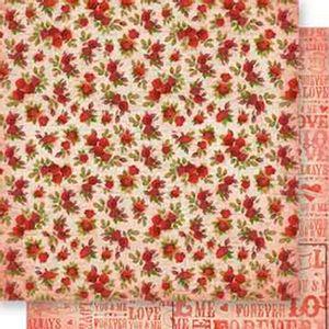 Papel-Scrapbook-Dupla-Face-Flores-e-Forever-SD-543---Litoarte