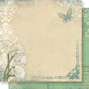 Papel-Scrapbook-Dupla-Face-Flor-Copo-de-Leite-e-Arabesco-SD-553---Litoarte