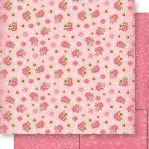 Papel-Scrapbook-Dupla-Face-Flores-SD-557---Litoarte