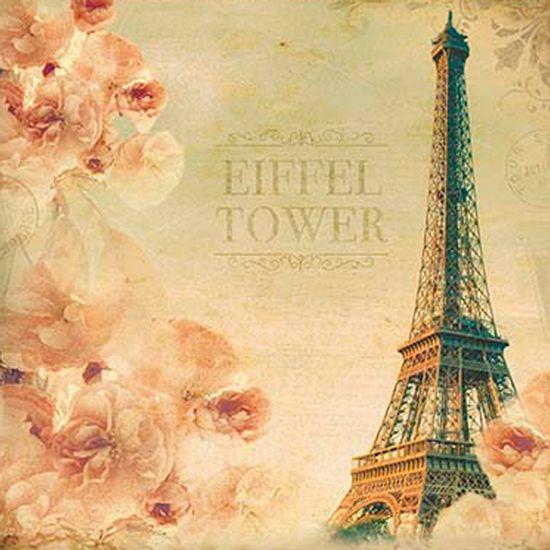 Papel-Decoupage-Adesiva-15x15-Eiffel-Tower-DAXV-055---Litoarte