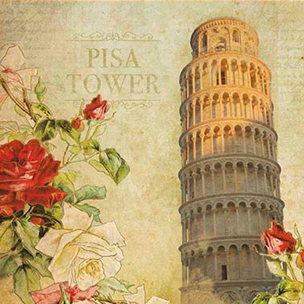 Papel-Decoupage-Adesiva-15x15-Pisa-Tower-DAXV-056---Litoarte