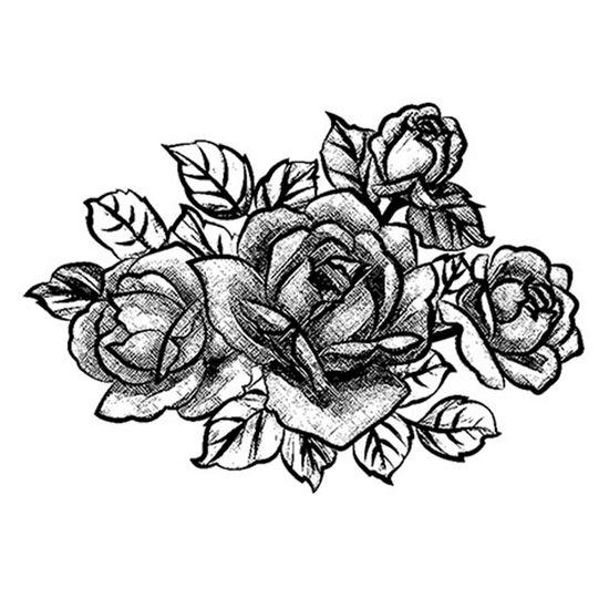 Carimbo-em-Borracha-Buque-de-Rosas-CLP-036---Litoarte